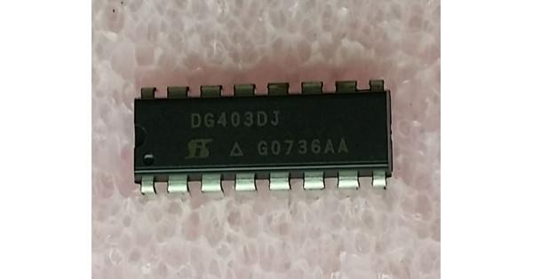 DG403DYZ INTERSIL Analog Switch Dual SPDT 16-Pin SOIC 5pcs