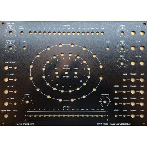 klee sequencer, panel, MOTM