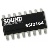 sound semiconductor ssi2164 fatkeys quad voltage controlled amplifier