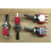 toggle switch, paddle actuator