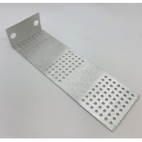 pcb mounting bracket,  'stooge' 2-pot long version