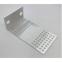 pcb mounting bracket, 'stooge' 2-pot short version