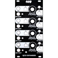 4ms eurorack diy kits, black panel versions