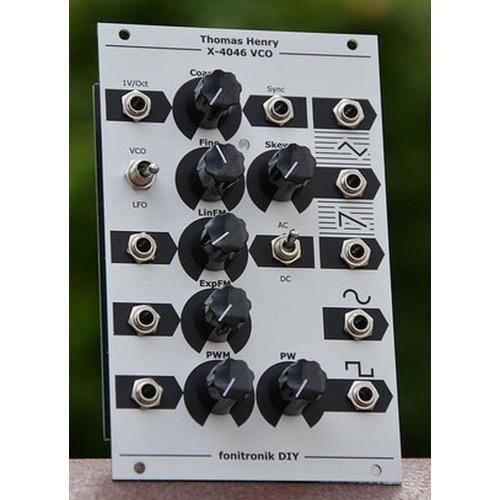 fonik thomas henry 4046 vco, full kit, euro 16hp (KITFN4046EURO16) by synthcube.com