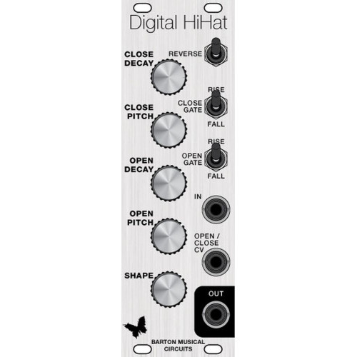 barton digital hihat, pcb+pic (PCBMB0036NONE01) by synthcube.com