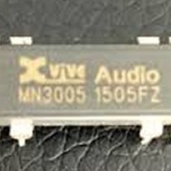Xvive, long awaited re-make of the classic MN3005 bucket brigade delay