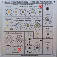 MFOS Noise Toaster- original panel design
