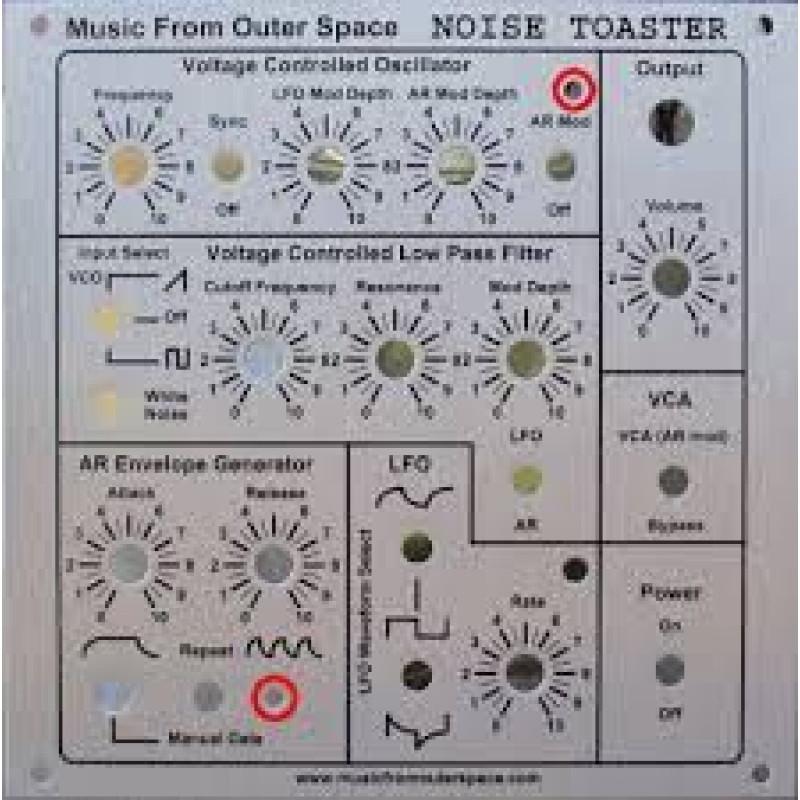 Mfos Noise Boxes Mfos Noise Toaster