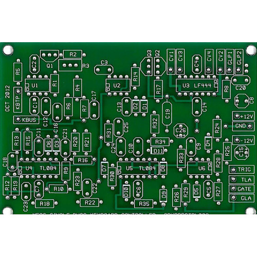 MFOS Single Buss Keyboard Controller Bare PCB