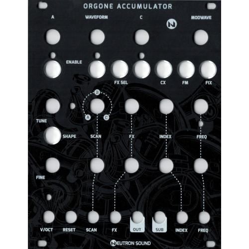 neutron orgone accumulator V3 SMT, black magpie version