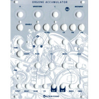 neutron sound orgone accumulator V3 SMT, white magpie version