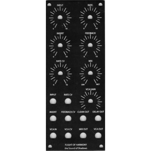 flight of harmony sound of shadows, panel, MOTM 2U (PANFHSOSHMOTM2U) by synthcube.com