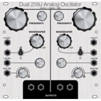 stroh modular 258j dual oscillators, eurorack
