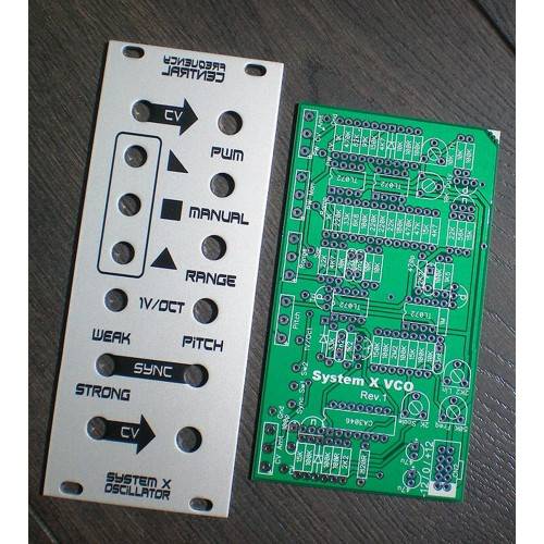 frequency central sysx vco, kit