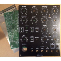 haible frequency shifter, pcbs+bkt+panel, MOTM 4U