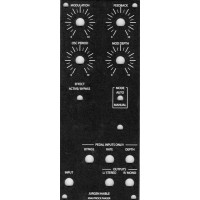 haible krautrock phaser, panel, MOTM 2U