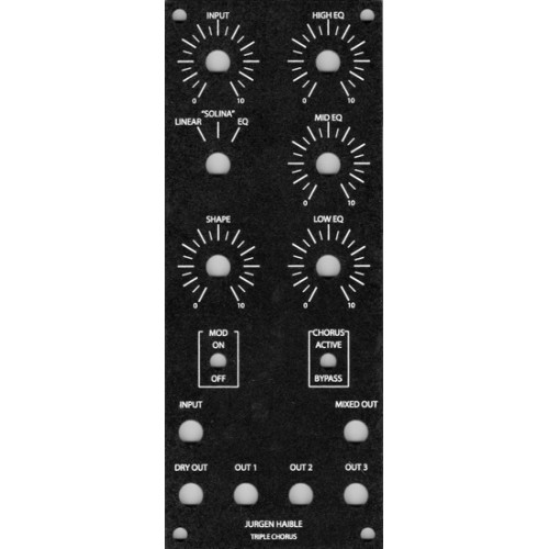 haible triple chorus, panel, MOTM 2U (PANJHTCHOMOTM2U) by synthcube.com