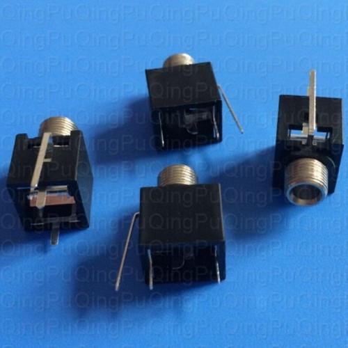 3.5mm mono jack PJ301M-12, hex nut (JCKWQPPJ301M12HXMASTER) by synthcube.com