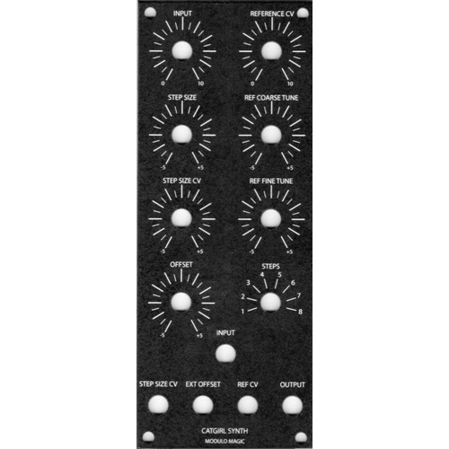cgs modulo magic, panel, 2U (PANKSMODMMOTM2U) by synthcube.com