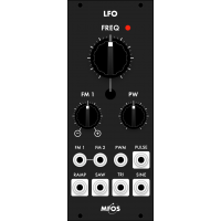 mfos euro vc lfo smt, black version
