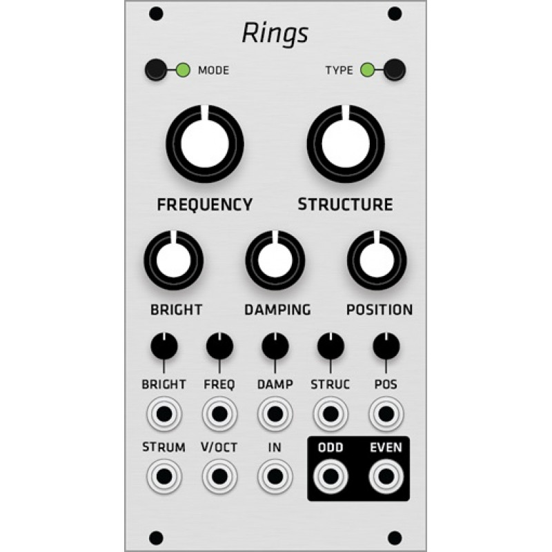 diy rings, grayscale version