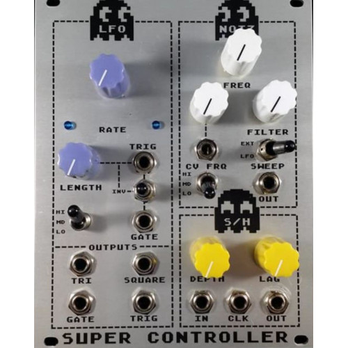 thomas henry supercontroller, aluminum panel version euro smt