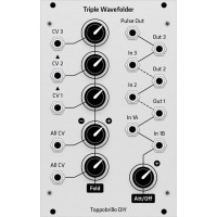 toppobrillo triple wavefolder, grayscale version