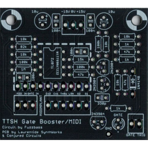 ttsh v4 gate booster modification pcb and parts