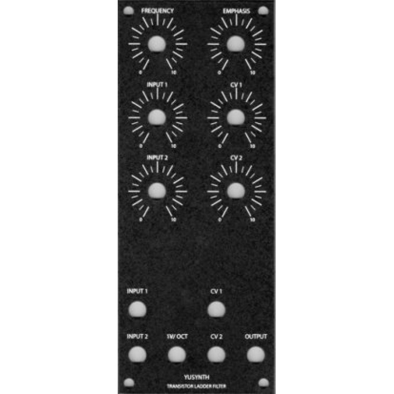 yuSynth trans ladder filter