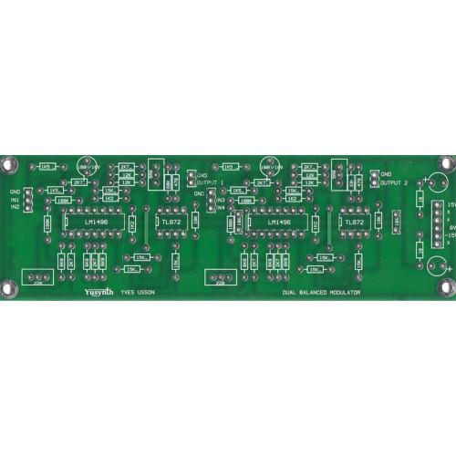 clee yusynth moog filter, panel+pcb+bracket (BNDCLYSMFNONE1U