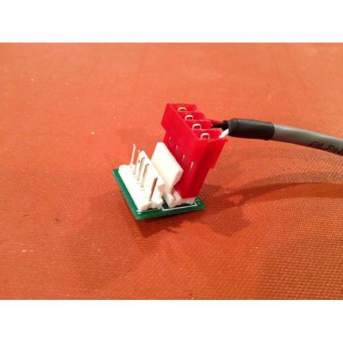 simple motm dotcom power converter (PCBSCPOWRNONE02) by synthcube.com