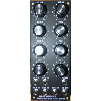 am4023 lo pass filter, panel, motm, 2U