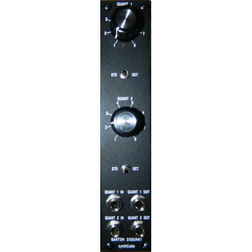 barton bmc001 dual simple quantizer, full kit, motm format, 1U