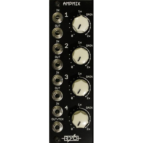 ryo ampmix, assembled (ASMRYAMPXEURO01) by synthcube.com