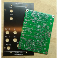 stroh modular stereo out, panel+pcb, frac 2U