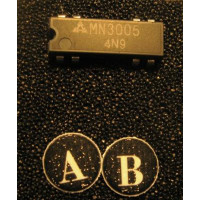 mn3005 bucket brigade delay analog IC