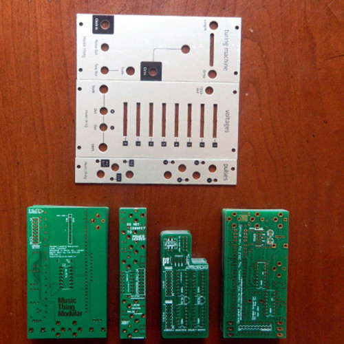 turing machine+expanders/grayscale panels+pcbs, bundle, euro (KITMTTRNGEGRY01) by synthcube.com