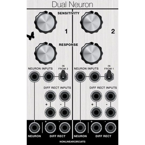 andrew f dual neuron/diff, euro, 16hp (ASMAFDNRNEURO16) by synthcube.com
