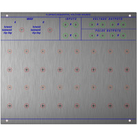 stroh modular flop seq, pcb+panel, 4U