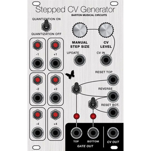 barton stepped cv generator, kit, euro 16hp (KITMBSTPCECLK16) by synthcube.com