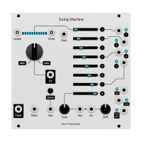 turing machine, pcb+grayscale hybrid panel