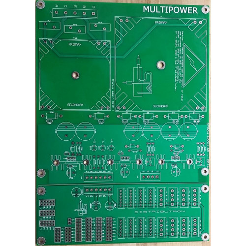 stroh modular diy power distro, pcb
