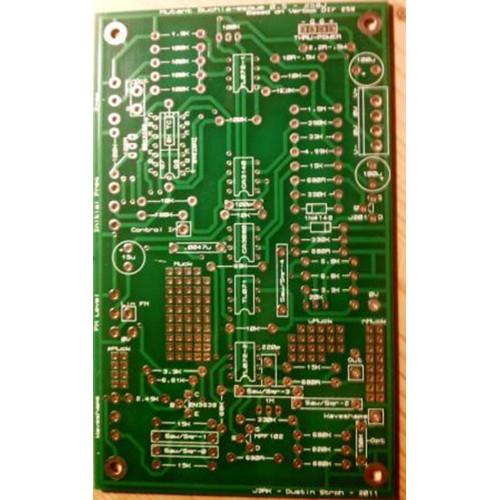 j3rk 258 oscillator pcb, blank (PCBJ3258JNONE10) by synthcube.com