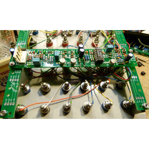 cat girl synth cgs91 mounting rail, 2 pcbs