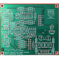 manhattan analog MVP, PCB only