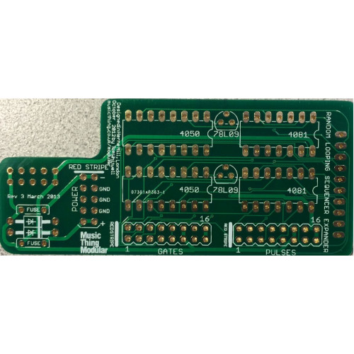 music thing turing machine expansion backpack, pcb