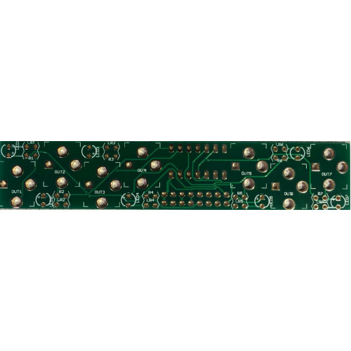 music thing turing machine pulses expander, pcb (PCBMTPULSNONE01) by synthcube.com