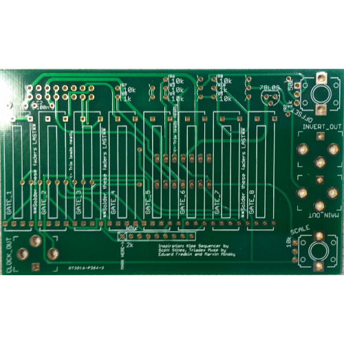 music thing turing machine voltages expander, pcb (PCBMTVLTGNONE01) by synthcube.com