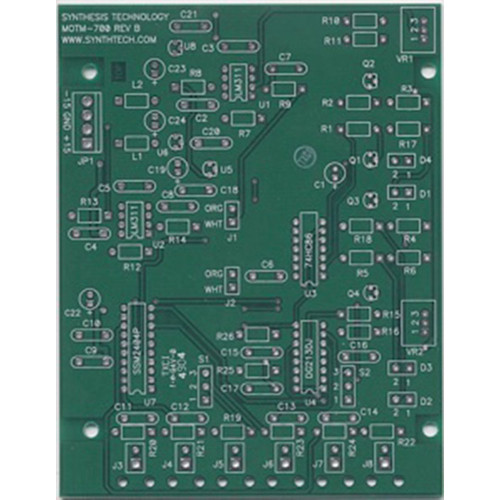 synthesis technology MOTM-700 dual 2-1 vc router, pcb only