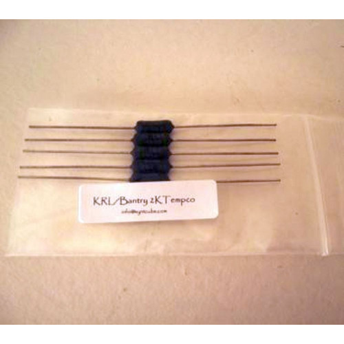 krl/bantry tempco resistor, 1K ohm, 3500PPM, bag of 5